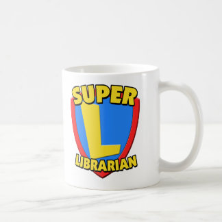 Bibliotecario estupendo taza básica blanca