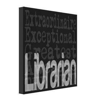 Bibliotecario Extraordinaire Impresion En Lona