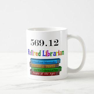Bibliotecario jubilado 569,0 (sistema decimal de D Taza De Café