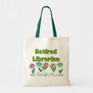 """Bibliotecario jubilado """"sensación de la primavera  bolsas"""