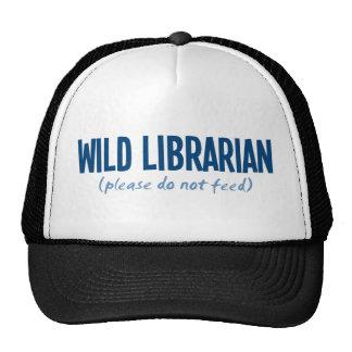 Bibliotecario salvaje - no alimente por favor gorras de camionero