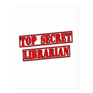 Bibliotecario secretísimo tarjeta postal