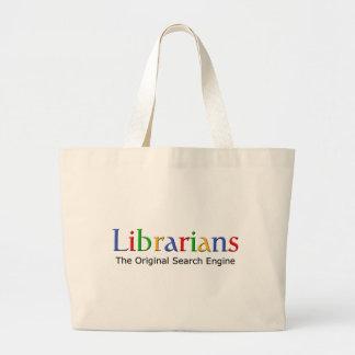 Bibliotecarios - el Search Engine original Bolsas De Mano