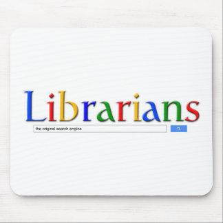 bibliotecarios el Search Engine original Alfombrillas De Raton