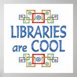 Bibliotecas frescas impresiones