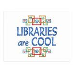 Bibliotecas frescas postal