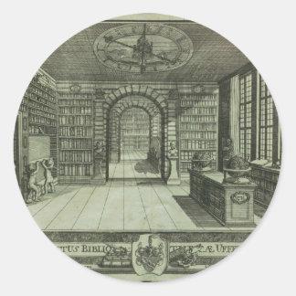 Bibliotha universalis stickers