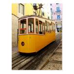 Bica Funicular, Lisbon, Portugal Tarjetas Postales