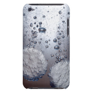 Bicarbonate of soda tablets in water iPod touch case