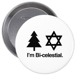 BICELESTIAL -.png Pinback Buttons