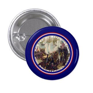 Bicentenario de New Orleans de la batalla leído Pin Redondo De 1 Pulgada