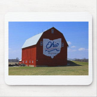 Bicentennial Barn Red Mouse Pad
