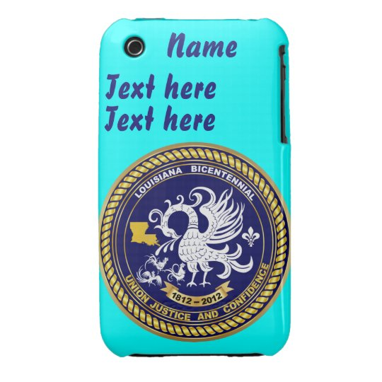 Bicentennial Louisiana 30 Colors See Notes iPhone 3 Case-Mate Case