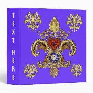 "Bicentennial Louisiana  Avery Binder 1.5"" Note"