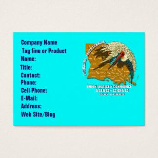 Bicentennial Louisiana Important See Notes Below Business Card