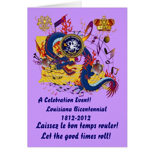 Bicentennial Louisiana Important See Notes Below Greeting Cards