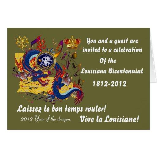 Bicentennial Louisiana Important See Notes Below Card