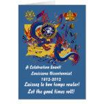 Bicentennial Louisiana Important See Notes Below Greeting Card