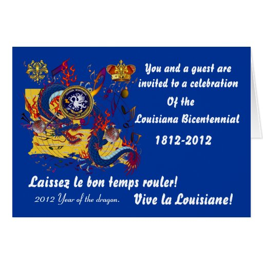Bicentennial Louisiana Important See Notes Below Stationery Note Card