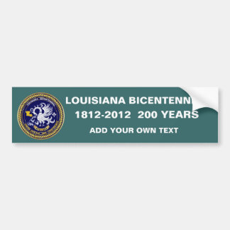 Bicentennial Louisiana Mardi Gras Party See Notes Bumper Sticker