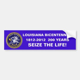 Bicentennial Louisiana Mardi Gras Party See Notes Car Bumper Sticker
