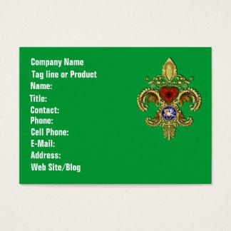 Bicentennial Louisiana Mardi Gras Party See Notes Business Card