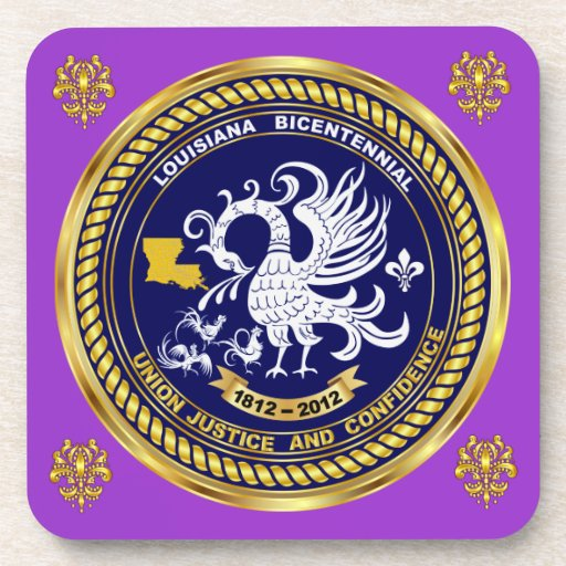 Bicentennial Louisiana Mardi Gras Party See Notes Drink Coasters
