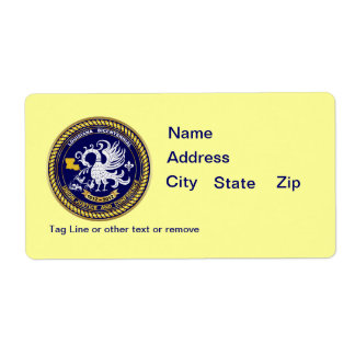 Bicentennial Louisiana Mardi Gras Party See Notes Custom Shipping Label