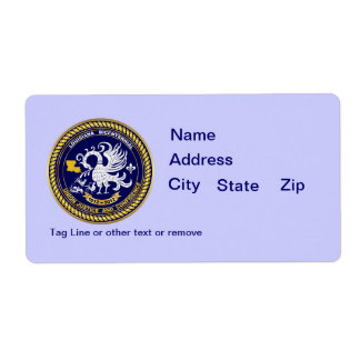 Bicentennial Louisiana Mardi Gras Party See Notes Personalized Shipping Label
