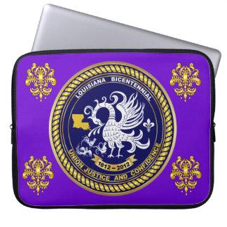 Bicentennial Louisiana Mardi Gras Party See Notes Laptop Sleeve