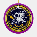 Bicentennial Louisiana Mardi Gras Party See Notes Christmas Tree Ornaments