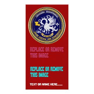 Bicentennial Louisiana Mardi Gras Party See Notes Customized Photo Card