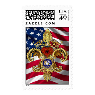 Bicentennial Louisiana Mardi Gras Party See Notes Postage Stamp