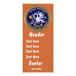 Bicentennial Louisiana Mardi Gras Party See Notes Rack Card Design