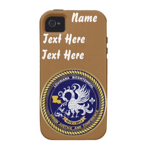 Bicentennial Louisiana Over 30 Colors See Notes iPhone 4/4S Cases