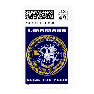 Bicentennial Louisiana Party See Notes Stamp