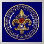 Bicentennial Louisiana Poster