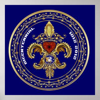 Bicentennial Louisiana Posters