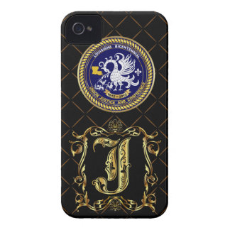 Bicentennial Monogram J iphone 4/4S Case Mate