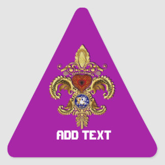 Bicentennial  Please View Notes Triangle Sticker