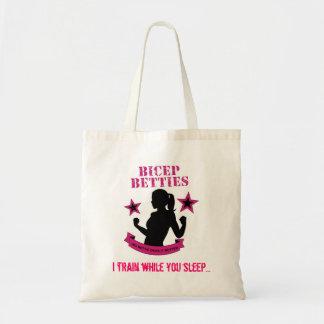 Bicep Betties Tote - Train Tote Bag