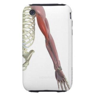 Biceps Brachii Tough iPhone 3 Case