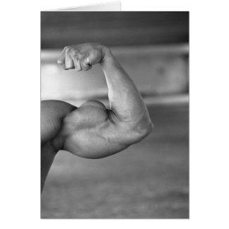 Biceps Notecard #1 Greeting Card