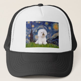 Bichon 1 - Starry Night Trucker Hat