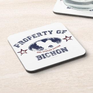 Bichon Beverage Coaster