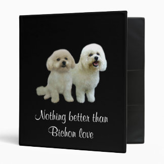 Bichon Buddies Binder