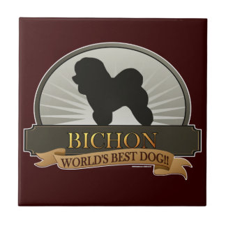 Bichon Ceramic Tile