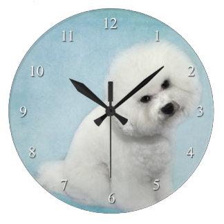 Bichon Clock