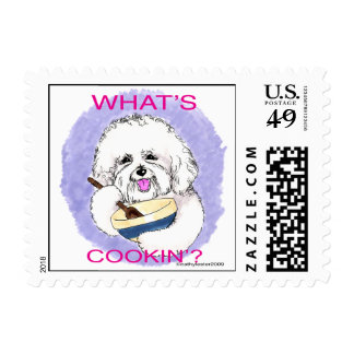 Bichon Cook Postage
