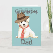 Bichon Dad Card